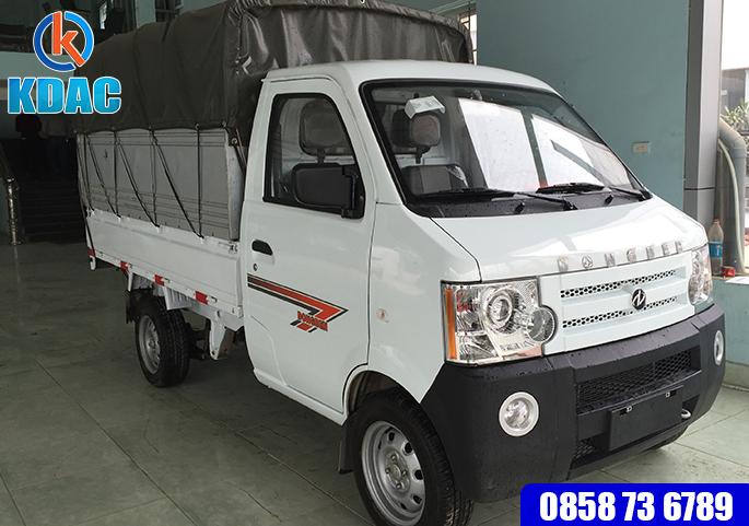 Xe tải 810kg Thùng Khung Mui phủ bạt