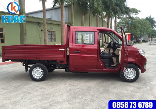 mua Xe tải Trường Giang cabin đôi 810kg thùng lửng gí tốt Hà Nội 0858 73 6789