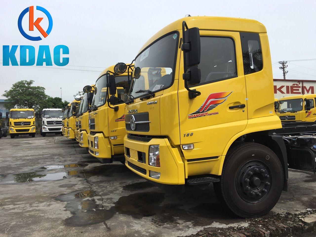 Xe tải dongfeng 8 tấn thùng dài 9m5 giá tốt tại Hà Nội 0858 73 6789
