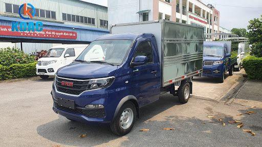 Xe tải SRM 930kg thùng kín