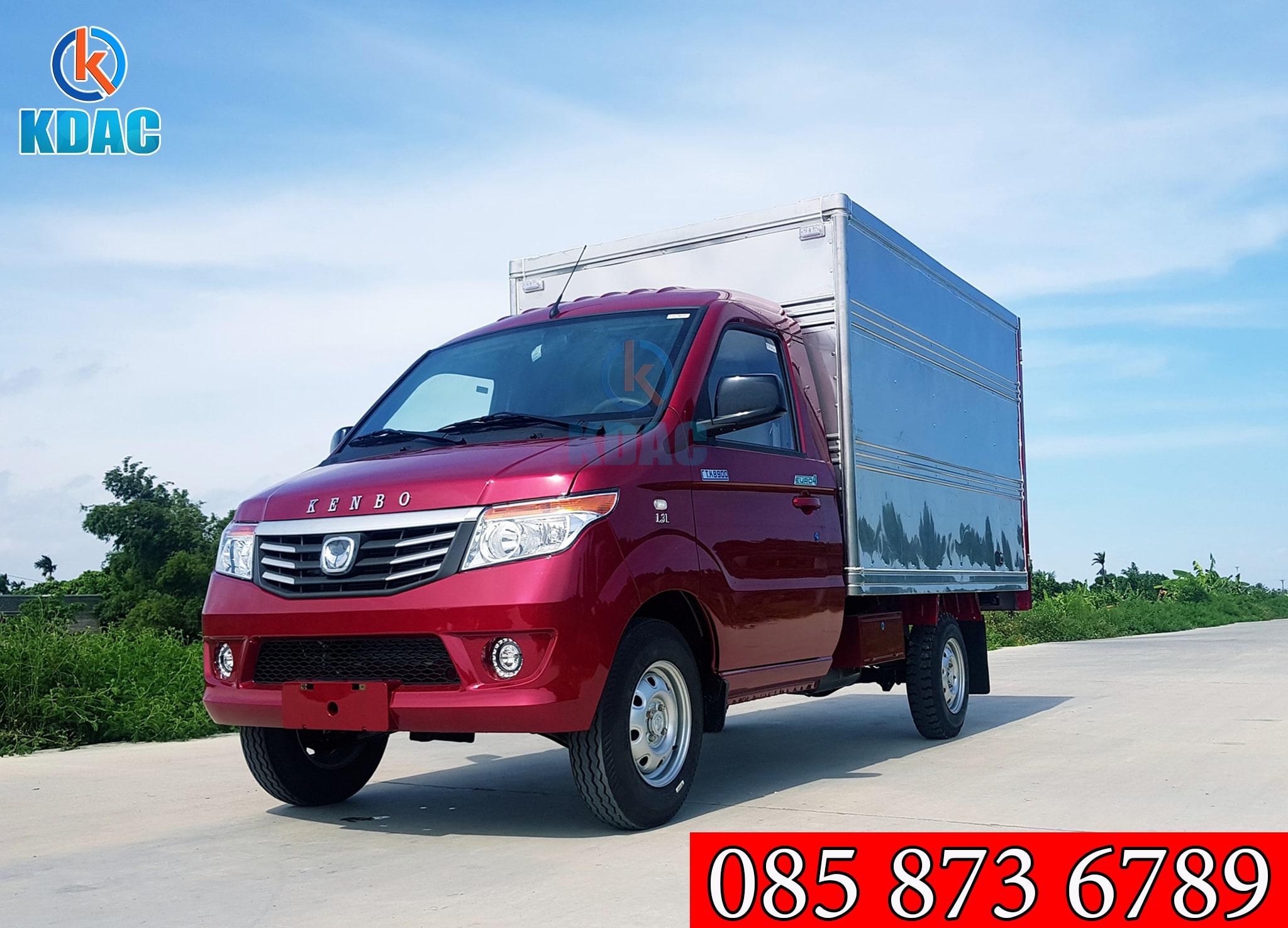 xe tải kenbo thùng kín