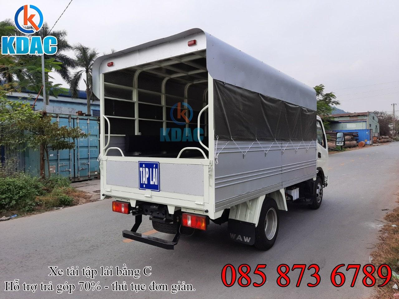 Xe tải WAW 3.5 tấn thùng tập lái