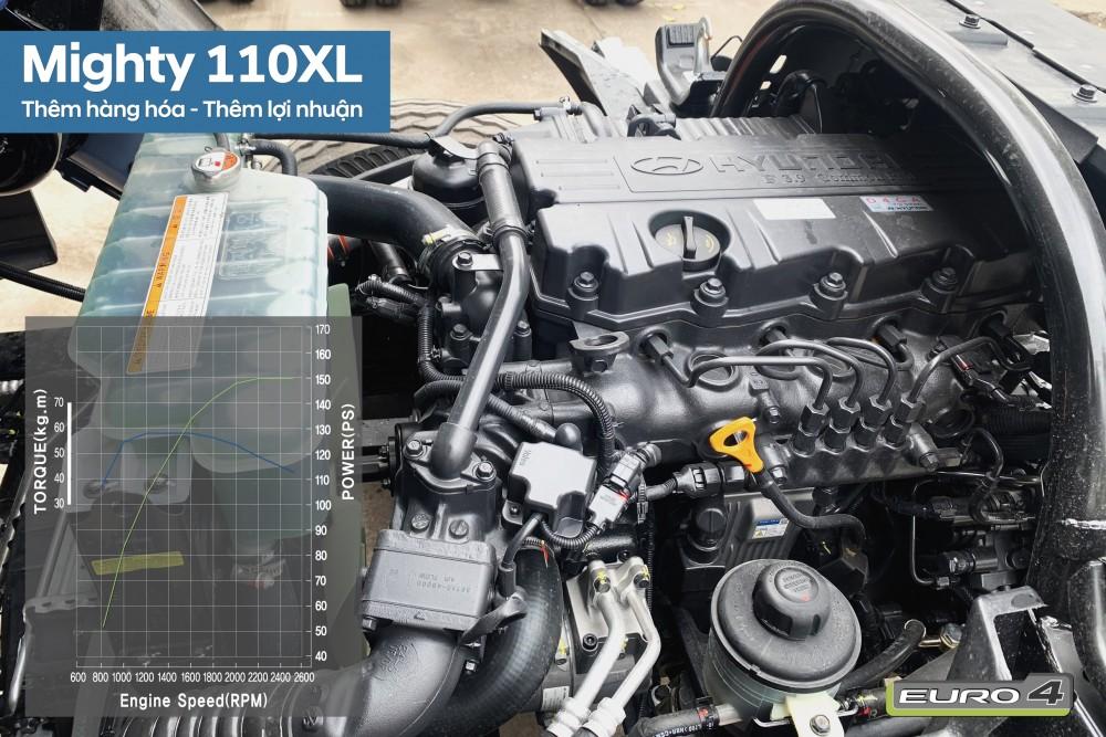 Động cơ Hyundai 7 tấn thùng 6m3