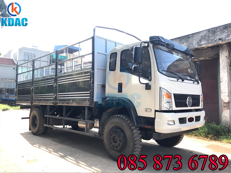 Xe tải Dongfeng 7 tấn 2 cầu cầu dầu
