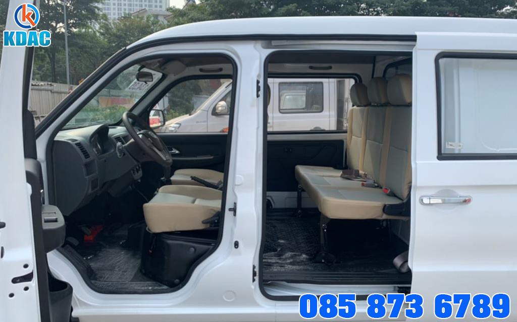 Xe tải Van Kenbo 5 chỗ ngồi 650kg