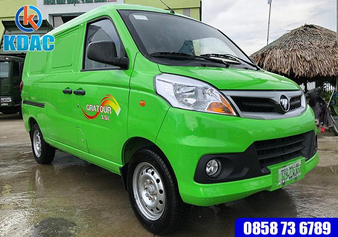 Xe tải VAN 950kg 2 chỗ ngồi