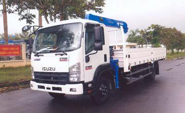 ISUZU gắn cẩu FRR90NE4 4.6 tấn – Cẩu TADANO 3 tấn
