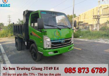 Xe tải tự đổ 3T49 Trường Giang